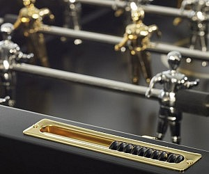 24K Gold Foosball Table