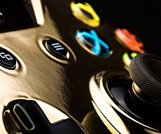 24K Gold Gaming Controllers