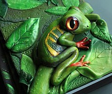 3d-clay-journal-frog