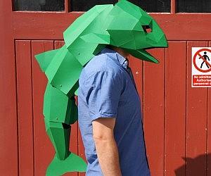 DIY 3D Fish Mask