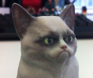 Grumpy Cat Mini Statue