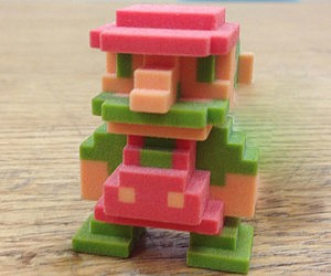 3D Printed Original Super Mario