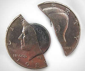 50 Cent Hidden Blade Coin