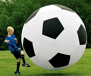 Six Foot Tall Soccer Ball