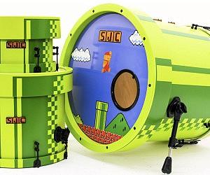 8-Bit Super Mario Drums
