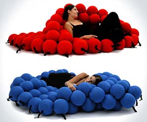 Adjustable Balls Lounger