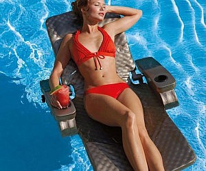Fully Adjustable Pool Recliner Float