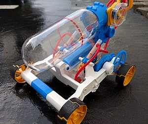 Air Powered Racer Kit