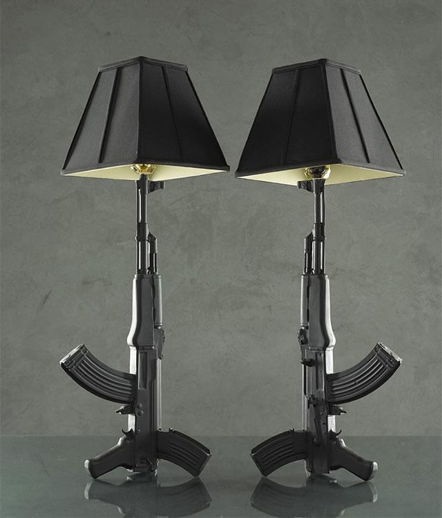 AK-47 Lamp
