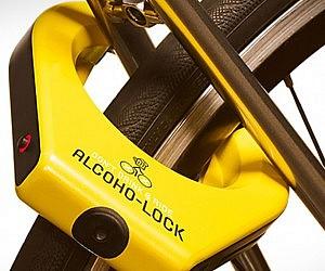 Alcohol Breathalyzer Bike Lock