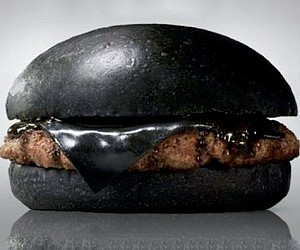 All Black Cheeseburger
