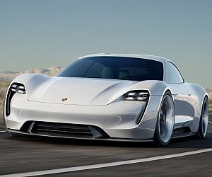 Electric Porsche Mission E
