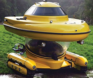 Amphibious Sub-Surface Watercraft
