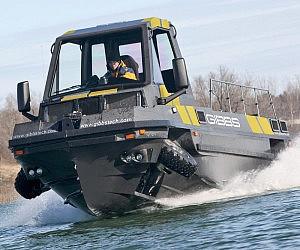 Amphibious Truck