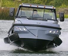 Amphibious Pickup Truck