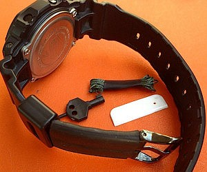 Anti-Kidnapping Watch Wrist Band