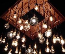 antique-ceiling-tins-chandelier