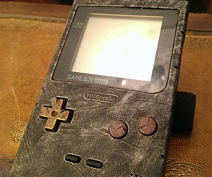 Rustic Retro Game Boy