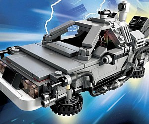 Back To The Future LEGOs
