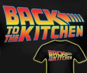 Back To The Kitchen Shirt