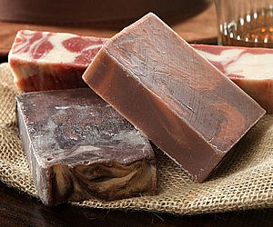 Bacon, Whiskey, And Coffee Soap