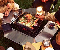 Barbecue Dining Table
