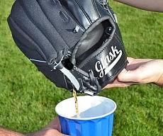 baseball-glove-flask