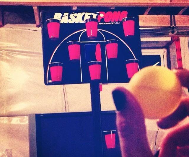 Basketball Beer Pong