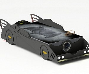 DIY Batmobile Bed