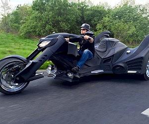 Batmobile Motorcycle