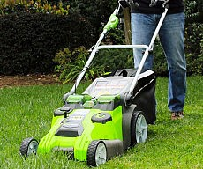 battery-powered-lawnmower