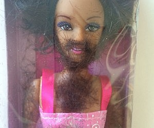 Shave And Play Barbie