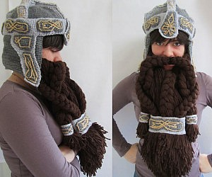 Dwarven Beard Hat