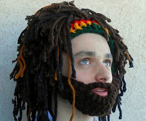 Bearded Rastafarian Hat