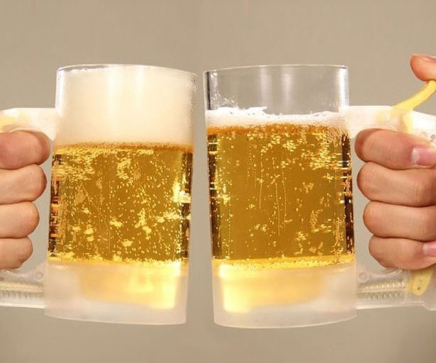 Beer Head Foam Making Mug