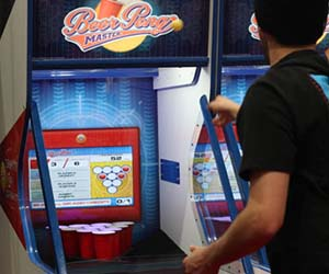 Beer Pong Arcade Machine
