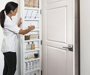 Behind The Door Storage Cabinet