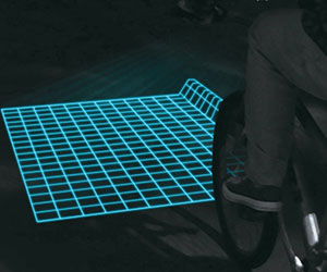 Bicycle Grid Projector