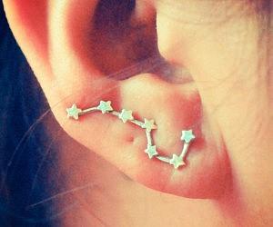 Big Dipper Silver Earring