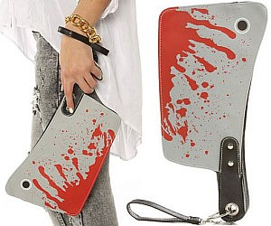 Butcher's Cleaver Purse