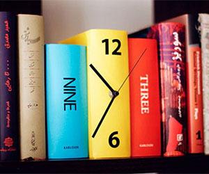 book-clock