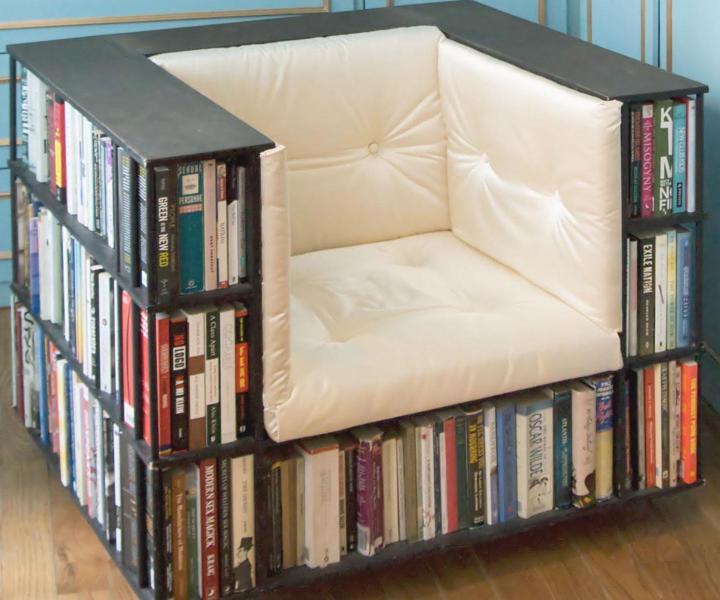 Bookshelfchair for Bookshelf chair plans