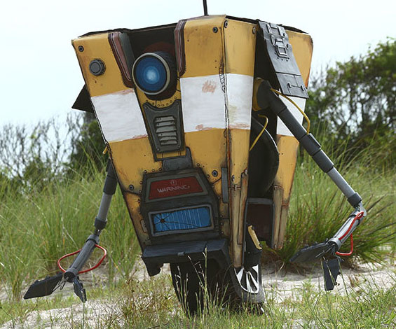 borderlands-clap-trap-replica