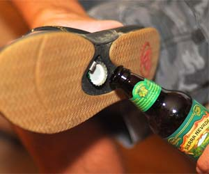 Bottle Opening Sandals