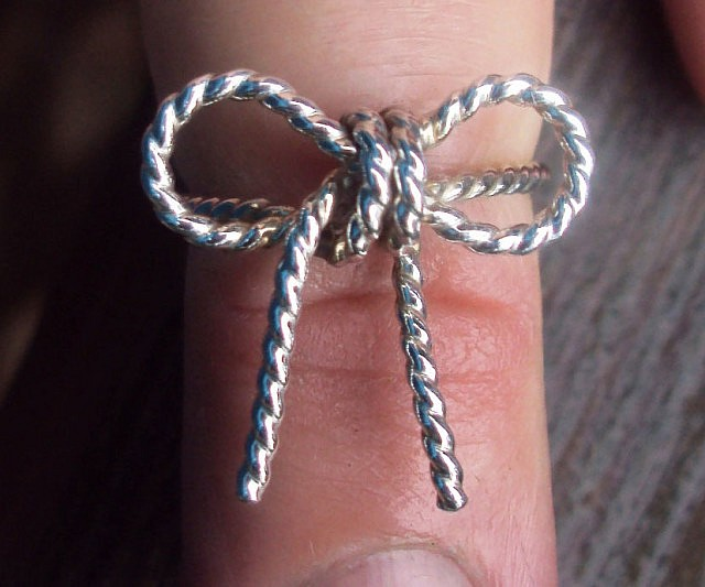 Forget Me Knot Rings