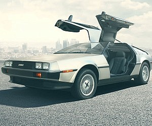 Completely Remanufactured DeLorean