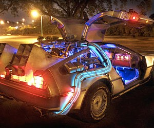 Replica DeLorean Time Machine