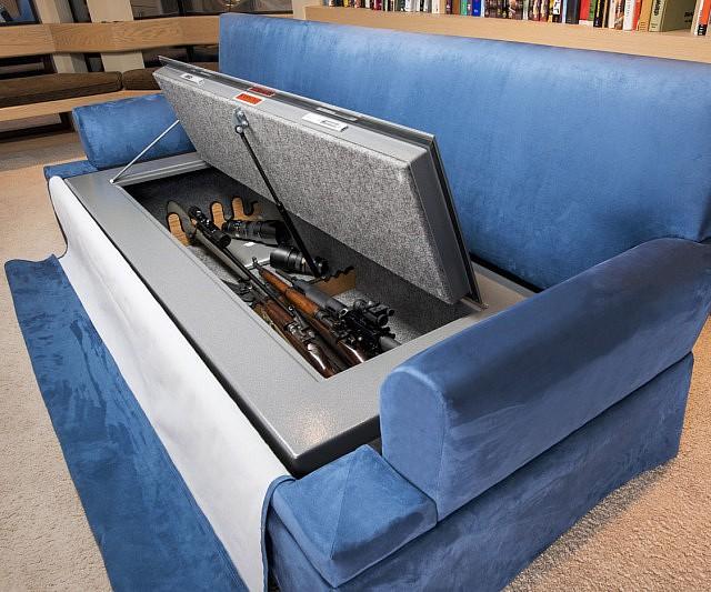 Bulletproof Couch Bunker
