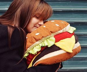 Cheeseburger Cushion
