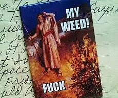 Burning Bush Magnet